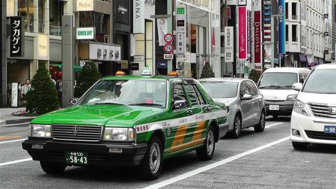 Tokyo Ginza Japan 6 Footage