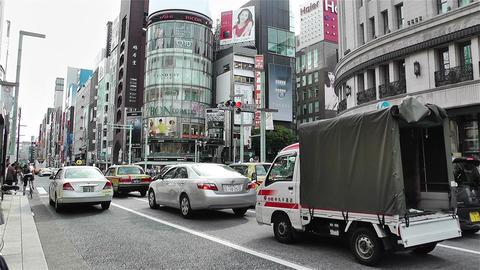 Tokyo Ginza Japan 8 Footage
