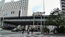 Tokyo Ginza Japan 12 Stock Video Footage