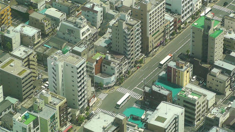 Tokyo Skytree Oshiage Aerial View to Tokyo 37 Footage