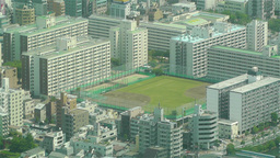 Tokyo Skytree Oshiage Aerial View to Tokyo 40 Footage