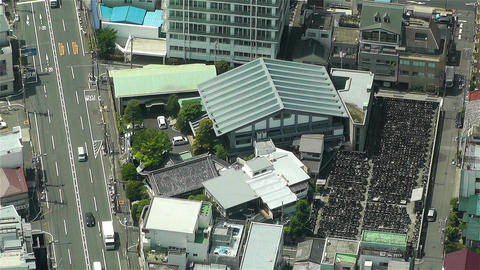 Tokyo Skytree Oshiage Aerial View to Tokyo 45 Stock Video Footage