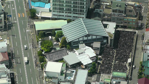 Tokyo Skytree Oshiage Aerial View to Tokyo 45 Footage