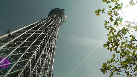 Tokyo Skytree Oshiage Japan 1 Footage
