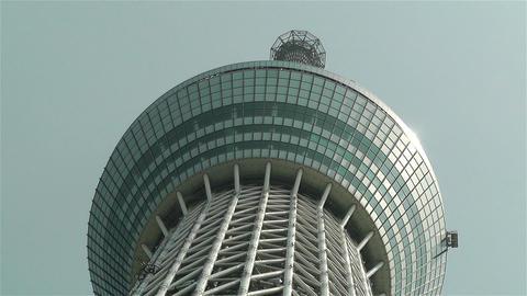 Tokyo Skytree Oshiage Japan 3 Stock Video Footage