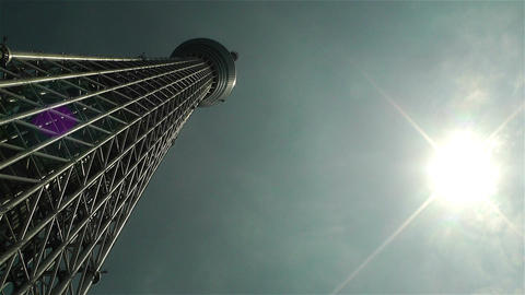 Tokyo Skytree Oshiage Japan 5 Stock Video Footage