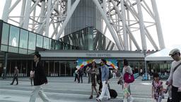 Tokyo Skytree Oshiage Japan 9 Stock Video Footage