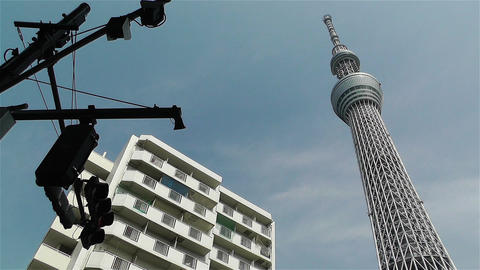 Tokyo Skytree Oshiage Japan 11 Stock Video Footage