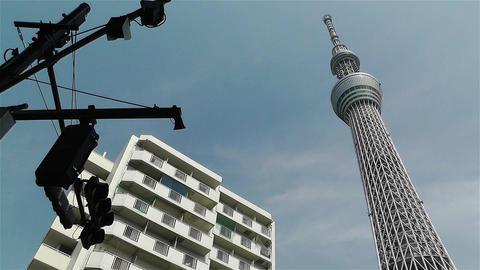 Tokyo Skytree Oshiage Japan 11 Footage
