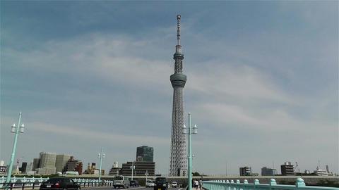 Tokyo Skytree Oshiage Japan 13 Stock Video Footage