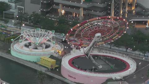 Yokohama Cosmoworld Japan 5 Footage