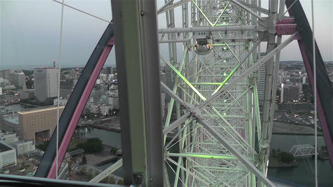 Yokohama Cosmoworld Japan 8 Footage