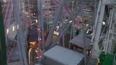 Yokohama Cosmoworld Japan 10 Stock Video Footage