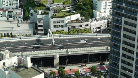 Yokohama Japan Aerial 3 Stock Video Footage