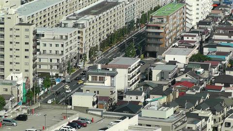 Yokohama Japan Aerial 5 Stock Video Footage