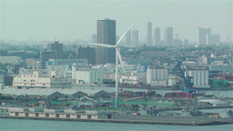 Yokohama Japan Aerial 15 Stock Video Footage