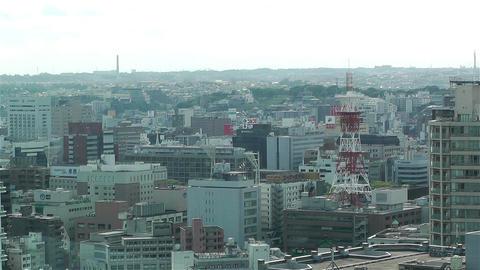 Yokohama Japan Aerial 25 Stock Video Footage