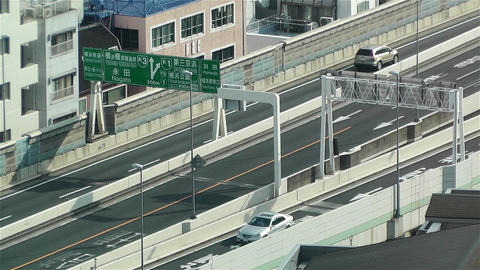 Yokohama Japan Aerial 37 Stock Video Footage
