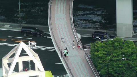 Yokohama Japan Aerial 41 Stock Video Footage