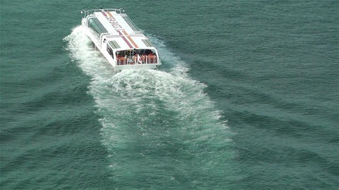 Yokohama Japan Aerial 43 ship Stock Video Footage