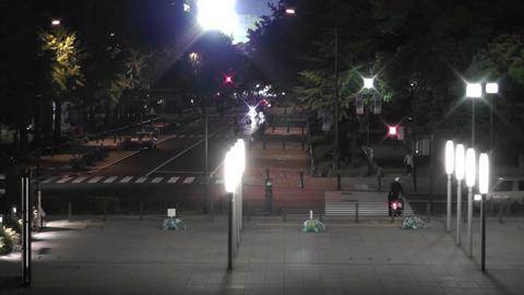 Yokohama Japan at Night 12 Stock Video Footage