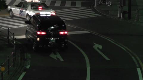 Yokohama Japan at Night 17 Stock Video Footage