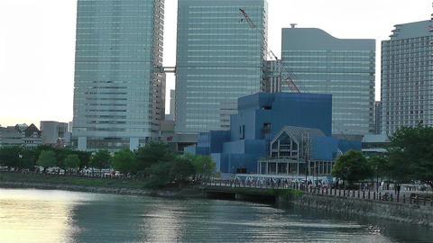 Yokohama Minato Mirai Japan 2 Stock Video Footage