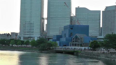 Yokohama Minato Mirai Japan 2 Footage