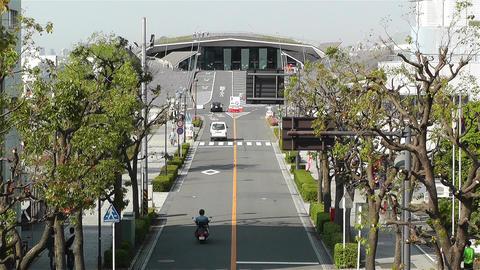 Yokohama Osinbashi Pier Port Japan 1 Stock Video Footage