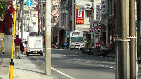 Yokohama Street Japan 2 Stock Video Footage