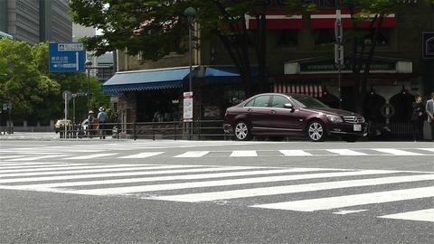 Yokohama Street Japan 8 Stock Video Footage