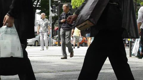 Yokohama Street Japan 10 Stock Video Footage