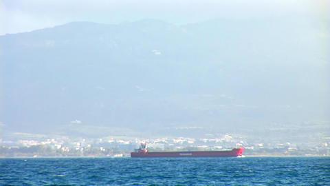 big ship Stock Video Footage