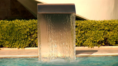 water wall Stock Video Footage
