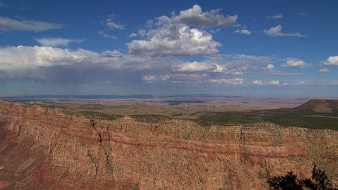 Clouds and shadow time lapse moving out the canyon Footage
