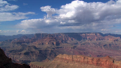 Wide timelapse shot from the Grand Canyon Footage