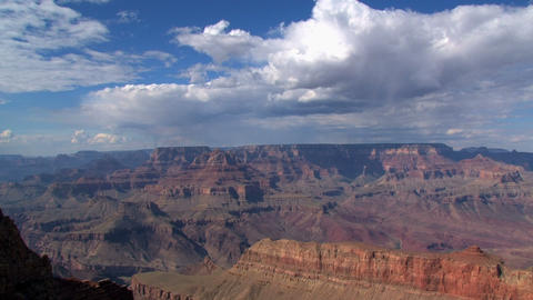 Wide timelapse shot from the Grand Canyon Stock Video Footage