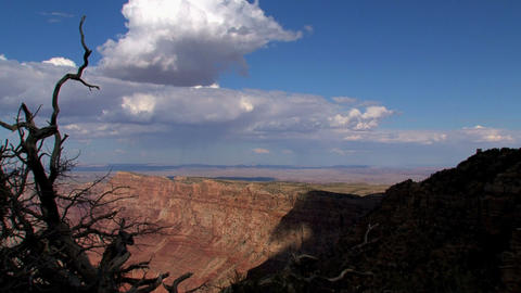 Grand Canyon shadow timelapse Footage