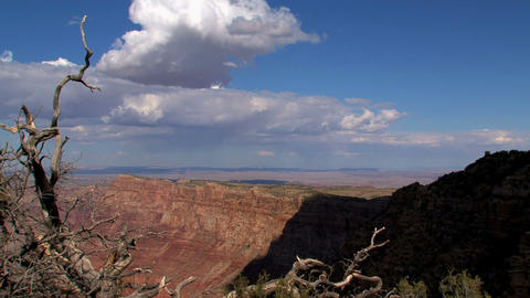Grand Canyon shadow timelapse Stock Video Footage