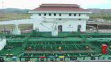 PANAMA CITY, PANAMA - MAY 5: Big ship enters in Panama... Stock Video Footage