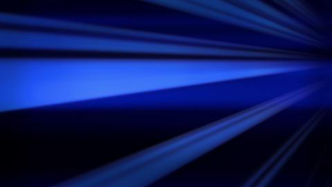 Flying blue lines, abstract background Stock Video Footage