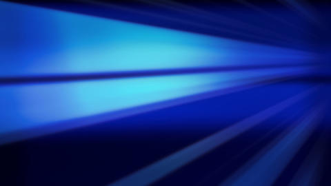 Flying blue lines, abstract background Animation