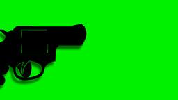 GUN SHOT Stock Video Footage