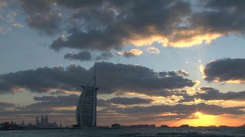 Burj al Arab hotel Footage