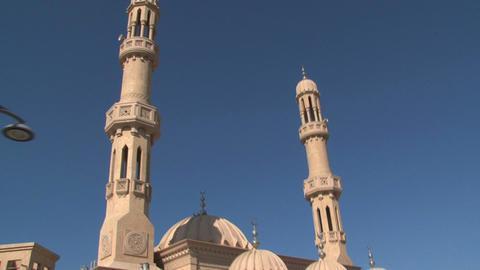 Jumeirah mosque Stock Video Footage