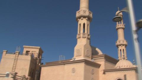 Jumeirah mosque Stock Video Footage