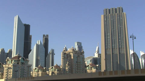 Downtown Dubai Stock Video Footage