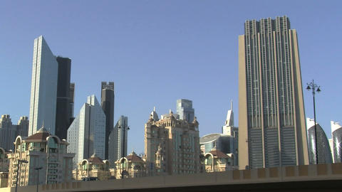 Downtown Dubai Footage