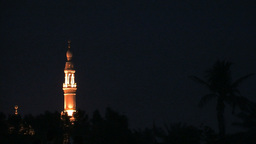 Jumeirah Mosque, Dubai Stock Video Footage