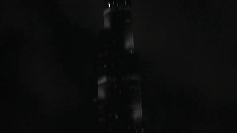 Burj khalifa tilt Footage